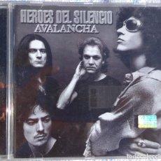 CDs de Música: HÉROES DEL SILENCIO – AVALANCHA (EMI, 1995) /// ROSENDO BARÓN ROJO OBÚS MAIDEN JUDAS SABBATH AC/DC. Lote 262912740