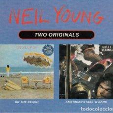 "CDs de Música: NEIL YOUNG "" ON THE BEACH / AMERICAN STARS 'N BARS "" CD. Lote 262917950"