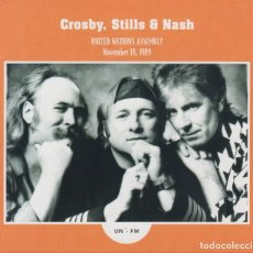 "CDs de Música: CROSBY, STILLS & NASH "" UNITED NATIONS ASSEMBLY (NOVEMBER 18, 1989) CD DIGIPACK. Lote 262919135"