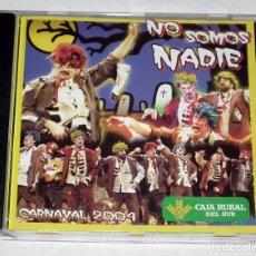 CD di Musica: CARNAVAL DE CADIZ 2004 - CD CHIRIGOTA NO SOMOS NADIE. Lote 262995055