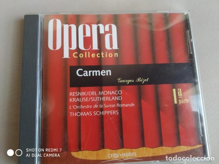 CARMEN. BIZET. OPERA COLLECTION. ORBIS. 1ª PARTE (Música - CD's Clásica, Ópera, Zarzuela y Marchas)