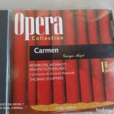 CDs de Música: CARMEN. BIZET. OPERA COLLECTION. ORBIS. 1ª PARTE. Lote 263011020