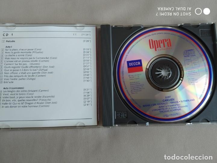CDs de Música: CARMEN. BIZET. Opera Collection. Orbis. 1ª Parte - Foto 3 - 263011020