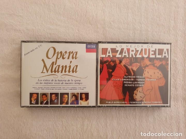 MUSICA - OPERA Y ZARZUELA (Música - CD's Clásica, Ópera, Zarzuela y Marchas)