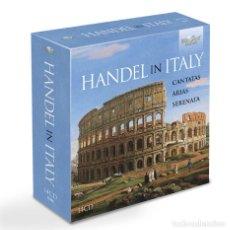 CDs de Música: HANDEL IN ITALY: CANTATAS, ARIAS, SERENATA (14 CDS). Lote 263013995