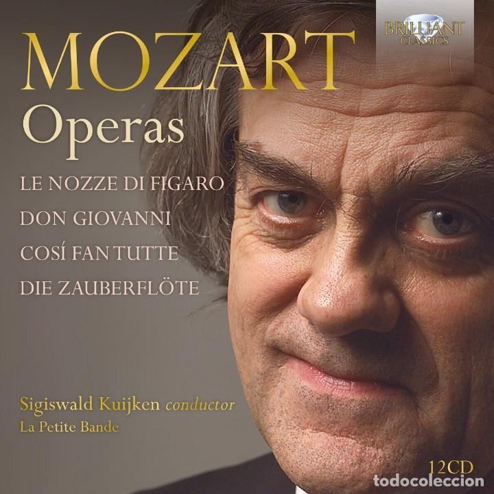 MOZART OPERAS (12 CDS) SIGISWALD KUIJKEN - LA PETITE BANDE (Música - CD's Clásica, Ópera, Zarzuela y Marchas)