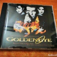 CDs de Música: GOLDENEYE BANDA SONORA ORIGINAL TINA TURNER CD ALBUM 1995 HOLANDA JAMES BOND 007 U2 BONO ERIC SERRA. Lote 263014900