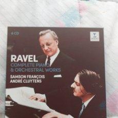 CDs de Música: RAVEL SAMSON FRANCOIS CLUYTENS. Lote 263020730