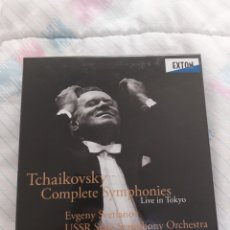 CDs de Música: TCHAIKOVSKY COMPLETE SINFONIAS EVGENY SVETLANOV. Lote 263021235