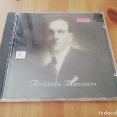 CDs de Música: ANTÓNIO MENANO. FADOS (CD). Lote 263041435