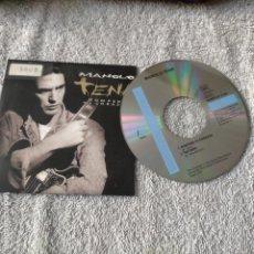 CDs de Música: MANOLO TENA CD SINGLE PROMOCIONAL 2 TEMAS ROMPERA TU CORAZON Y TAN RARO. Lote 263077210
