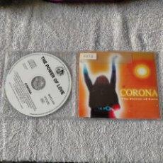 CDs de Música: CORONA THE POWER OF LOVE CD SINGLE REMIXES 9 TEMAS 1997. Lote 263077755