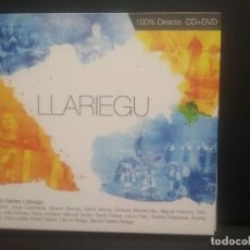 CDs de Música: BANDA DE GAITES LLARIEGU LLARIEGU CD + DVD 2011 ASTURIAS PEPETO. Lote 263088155
