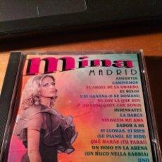 CDs de Música: RAR CD.MINA. MADRID.14 TRACKS. JOKER. Lote 263099565
