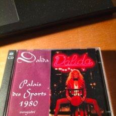 CDs de Música: RAR 2 CD'S. DALIDA. PALAIS DES SPORTS 1980. 20 TRACKS. Lote 263099785