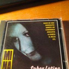 CDs de Música: RAR CD. MINA. SABOR LATINO. 12 TRACKS. PERFIL. Lote 263100040