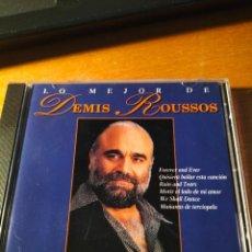 CDs de Música: RAR CD. DEMIS ROUSSOS. LO MEJOR. MADE IN SPAIN. 15 TRACKS. Lote 263100065