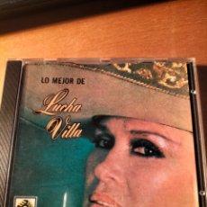 CDs de Música: RAR CD. LUCHA VILLA. LO MEJOR. 15 TRACKS. ZAFIRO. Lote 263100080