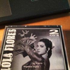 CDs de Música: RAR 2 CD'S. LOLA FLORES. MISMO TÍTULO. Lote 263100145
