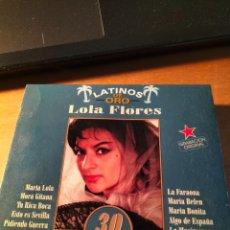 CDs de Música: RAR 2 CD'S. LOLA FLORES. 30 ÉXITOS DE ORO. PRECINTADO. MINT. Lote 263100155