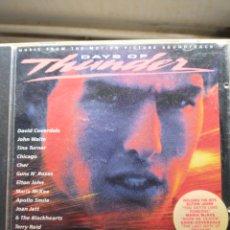 CDs de Música: DAYS OF THUNDER CD. Lote 263110575