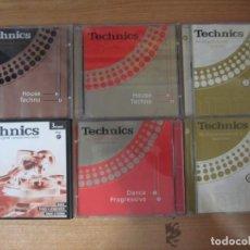 CDs de Música: LOTE 12 CD TECHNICS TRANCE PROGRESIVE HOUSE TECHNO. Lote 263111895