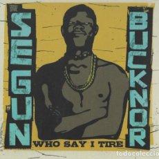 CDs de Música: SEGUN BUCKNOR - WHO SAY I TIRE - 2CDS. Lote 263143325