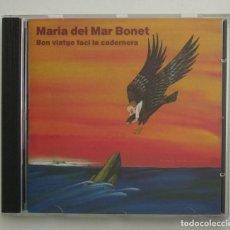CDs de Música: 1990 CD IMPECABLE - MARIA DEL MAR BONET / BON VIATGE FACI LA CADERNERA (ARIOLA EURODISC). Lote 263144470