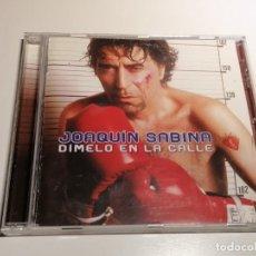 CDs de Musique: JOAQUIN SABINA DIMELO EN LA CALLE CD. Lote 263156290