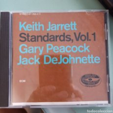 CDs de Música: KEITH JARRETT, GARY PEACOCK, JACK DEJOHNETTE - STANDARDS, VOL. 1 (ECM RECORDS, GERMANY, 1985). Lote 263159345
