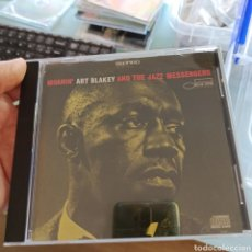 CDs de Música: ART BLAKEY AND THE JAZZ MESSENGERS - MOANIN' (BLUE NOTE, EUROPE, 1987). Lote 263160620