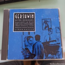 CDs de Música: GEORGE GERSHWIN - RHAPSODY IN BLUE · PIANO CONCERTO · SONG-BOOK (COMPLETE) (EMI CLASSICS, UK, 1991). Lote 263161835