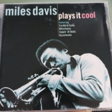 CDs de Música: MILES DAVIS - PLAYS IT COOL (UNION SQUARE MUSIC, EUROPE, 2004). Lote 263162290