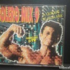 CDs de Música: DOBLE CD BOLERO MIX 9 - QUIQUE TEJADA MIX. BLANCO Y NEGRO MUSIC, 1992 PEPETO. Lote 263164290