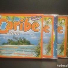 CDs de Música: CARIBE 2001. EL VERANO YA LLEGÓ. 4 X CD PEPETO. Lote 263164510