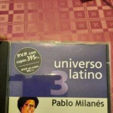 CDs de Música: PABLO MILANES UNIVERSO LATINO. EL PAÍS.. Lote 263176160
