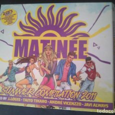 CDs de Música: MATINÉE SUMMER COMPILATION 2011. DOBLE CD, PERFECTO ESTADO. Lote 263168620