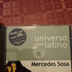 CDs de Música: MERCEDES SOSA UNIVERSO LATINO EL PAÍS.. Lote 263176545