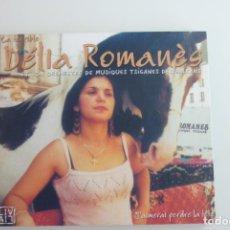 CDs de Música: LA TERRIBLE DÉLIA ROMANÈS ET SON ORCHESTRE DE MUSIQUES TSIGANES DES BALKANS J'AMERAI PERDRE LA TÊTE. Lote 263180270