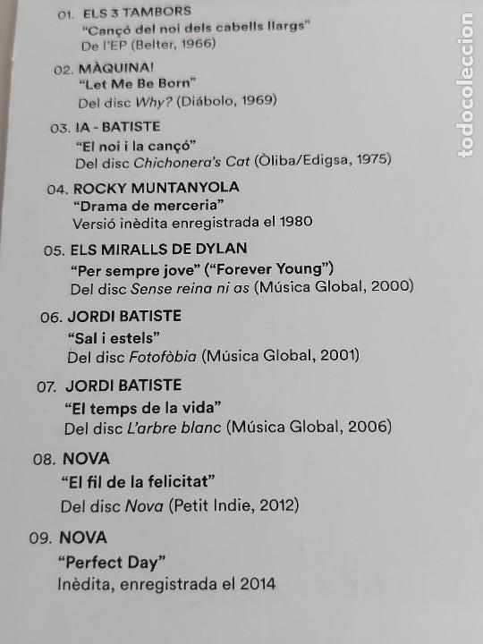 CDs de Música: JORDI BATISTE / TOCA REVISIÓ / PROMO CD-EDR-2016 / 9 TEMAS / IMPECABLE. - Foto 3 - 277185348