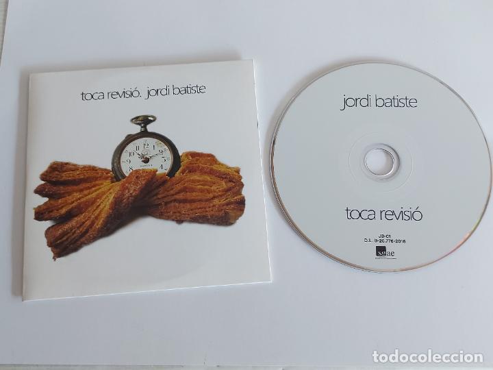 JORDI BATISTE / TOCA REVISIÓ / PROMO CD-EDR-2016 / 9 TEMAS / IMPECABLE. (Música - CD's Pop)