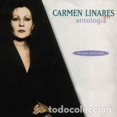 CDs de Música: CARMEN LINARES - ANTOLOGÍA (LA MUJER EN EL CANTE) (2XCD, ALBUM) LABEL:MERCURY CAT#: 532 397-2. Lote 263187005