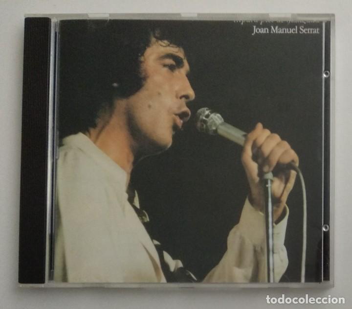 1° EDICIÓN SIN CÓDIGO DE BARRAS / JOAN MANUEL SERRAT 1990 CD IMPECABLE - ...PARA PIEL DE MANZANA (Música - CD's Melódica )