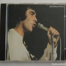 CDs de Música: 1° EDICIÓN SIN CÓDIGO DE BARRAS / JOAN MANUEL SERRAT 1990 CD IMPECABLE - ...PARA PIEL DE MANZANA. Lote 263191950