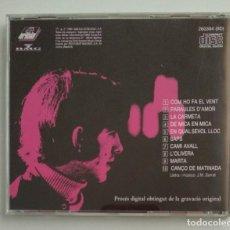 CDs de Música: 1° EDICIÓN SIN CÓDIGO DE BARRAS / JOAN MANUEL SERRAT 1990 CD IMPECABLE - COM HO FA EL VENT. Lote 263192885