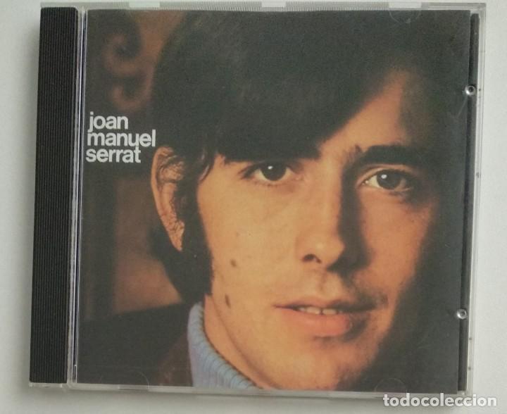 CDs de Música: 1° edición sin código de barras / JOAN MANUEL SERRAT 1990 CD impecable - COM HO FA EL VENT - Foto 2 - 263192885