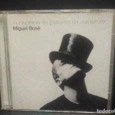 CDs de Música: MIGUEL BOSE, 11 MANERAS DE PONERSE UN SOMBRERO. CD. 1998 PEPETO. Lote 263193345