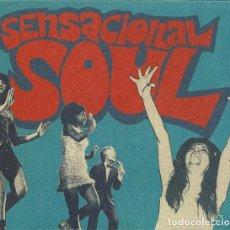 CDs de Música: SENSACIONAL SOUL - 37 GROOVY SPANISH SOUL & FUNKY STOMPERS. 1966 / 1976. Lote 263193960