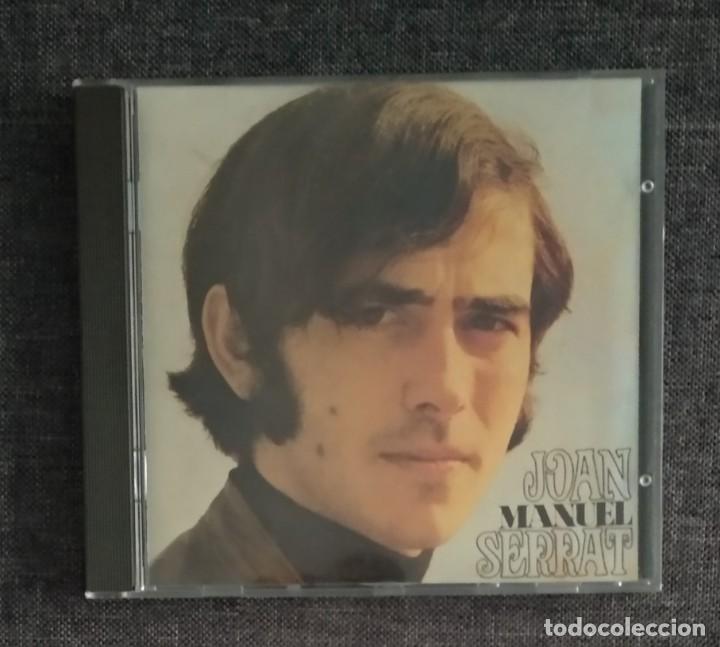 1° EDICIÓN SIN CÓDIGO DE BARRAS / JOAN MANUEL SERRAT 1987 CD IMPECABLE - LA PALOMA, EL TITIRITERO (Música - CD's Melódica )