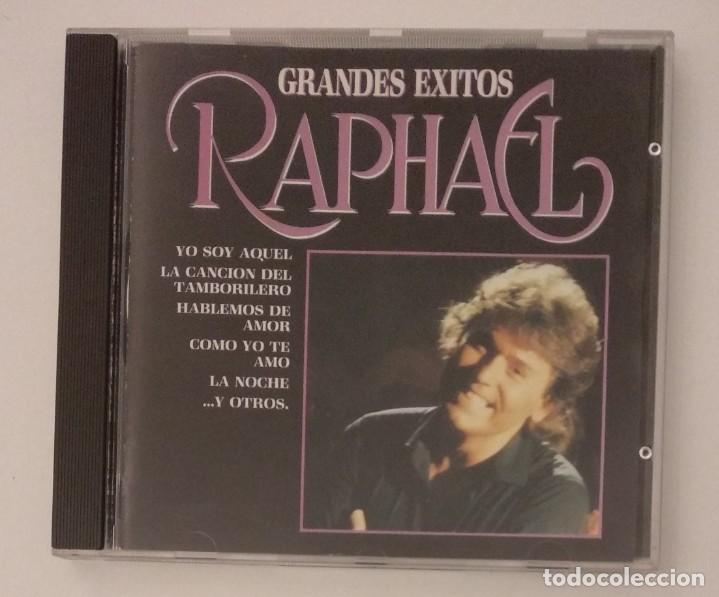 1° EDICIÓN SIN CÓDIGO DE BARRAS / RAPHAEL 1987 CD IMPECABLE - GRANDES EXITOS (Música - CD's Melódica )